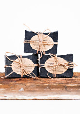 CHARCOAL SANDALWOOD SOAP