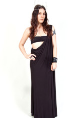 OVATE One Shoulder Maxi