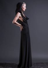 Huldra Hooded Maxi Dress